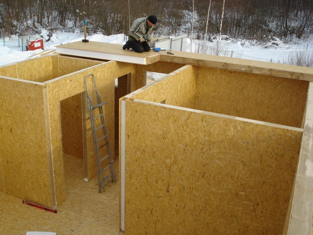 Панельное строительство своими руками